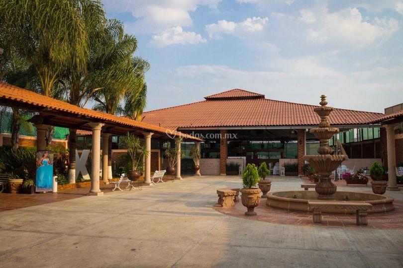 Terraza real de las palmas - Fuente terraza ...