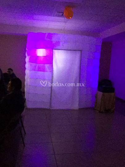 Iluminen su evento