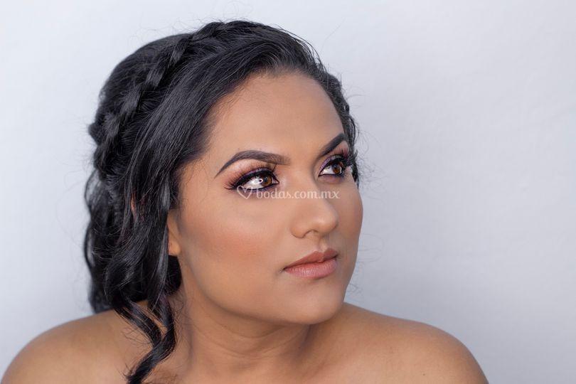 Maquillaje social para evento