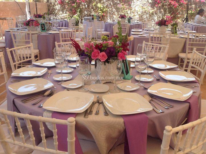 Mesas para evento