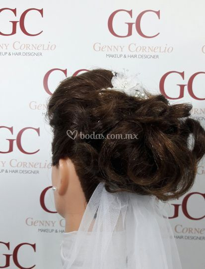 Peinado de gran gala para novias