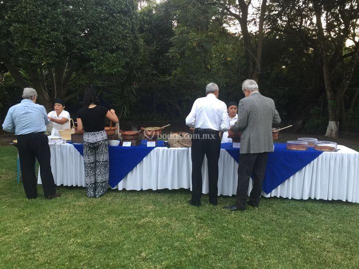 Montaje buffet