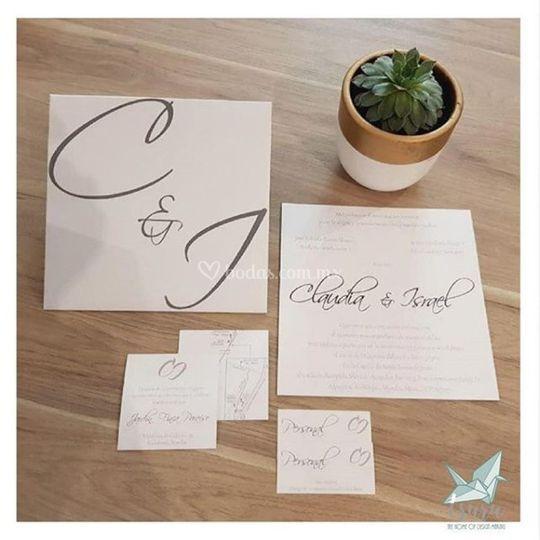 Invitación para boda