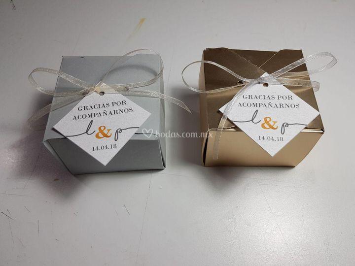 Cajas para dulces o chocolates