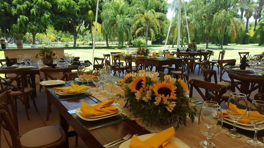 Jardín de bodas La Aldea