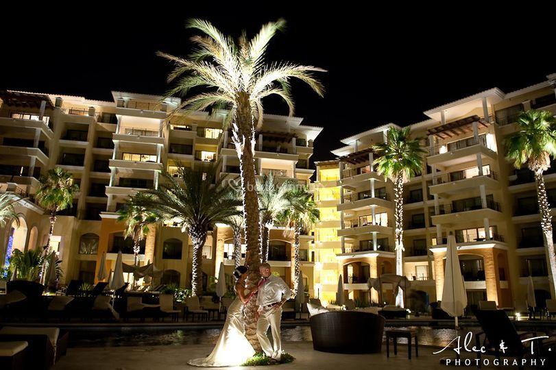 Hotel Casa Dorada noche