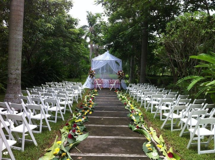 Recinto de una boda civil