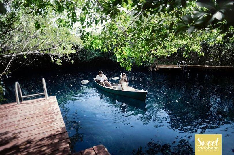 Tu boda en un cenote maya
