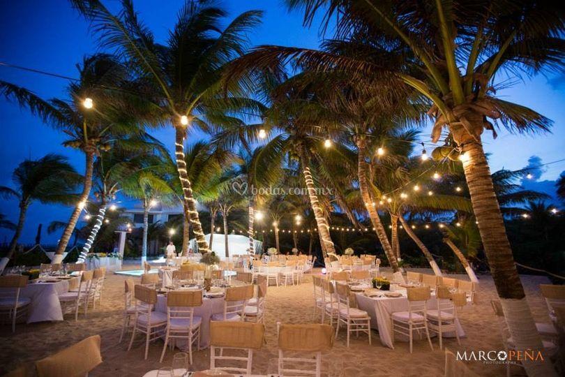 Caribbean wedding lm