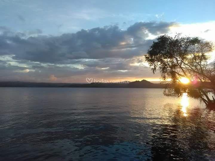 Lago místico