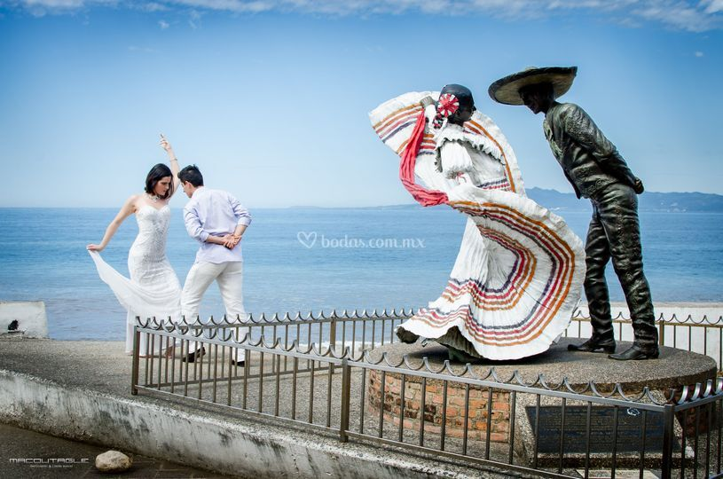 Macdutagle trash the dress