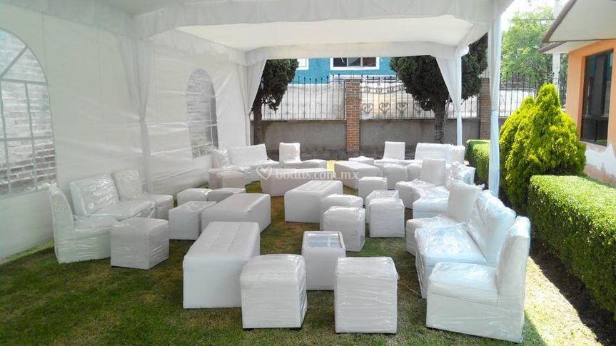 Salas lounge, alquiladora lide