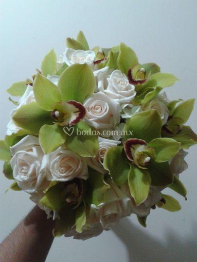 Bouquet orquideas