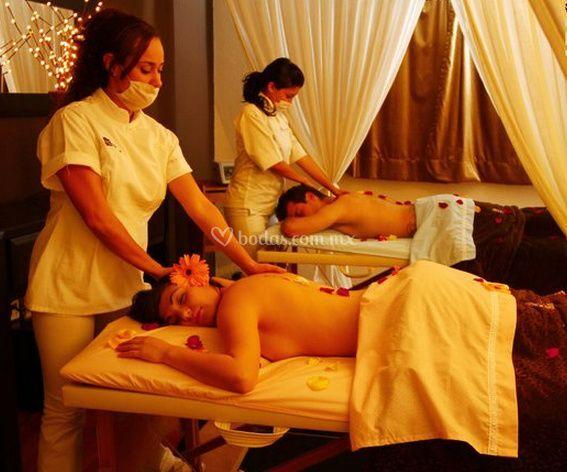 Zona de masajes
