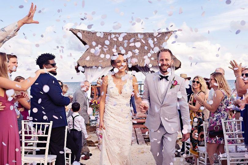 Quetzal Wedding Photo