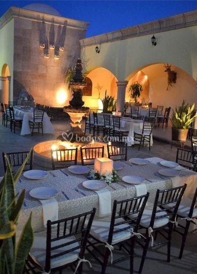 Velas romanticas de hacienda real jard n de eventos foto 7 for Jardin quinta real cd obregon