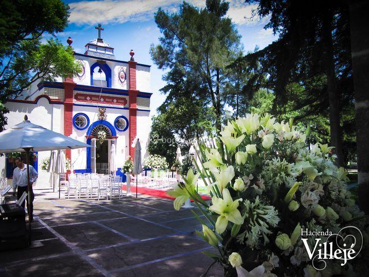 Capilla de San José de Hacienda Villeje