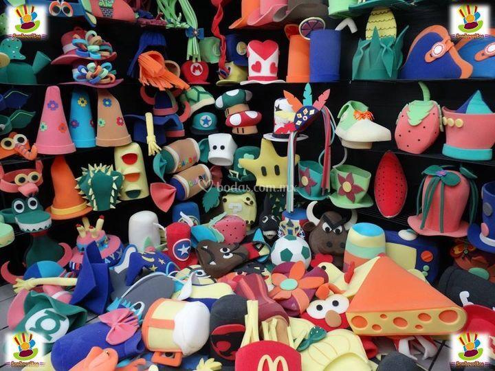 Sombrero hule espuma