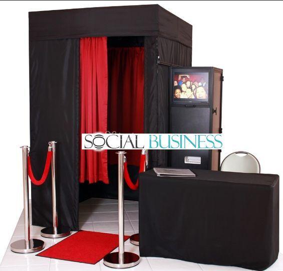 Fotocabina de Social Business Tabasco