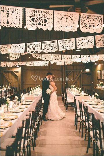 Enramadas boda tradicional