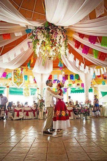 Enramada boda mexicana