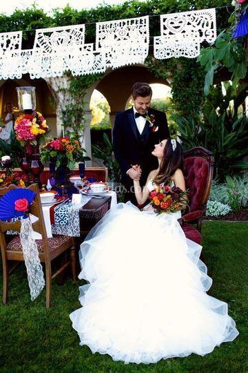 Enramada boda tradicional