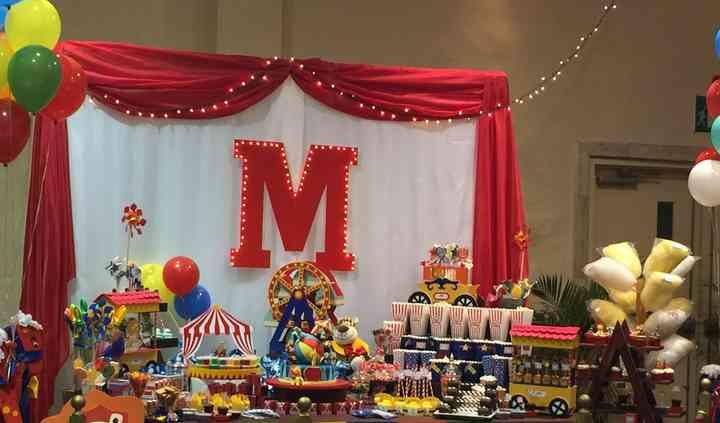Candy Bar tema Circo