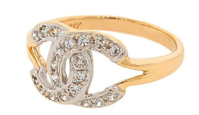 Hermoso anillo de oro
