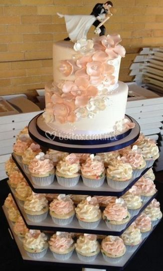 Ideal para pastel de bodas