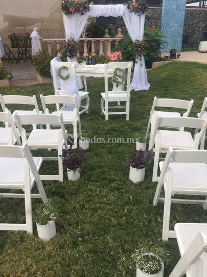 Tabachines Jardín De Eventos