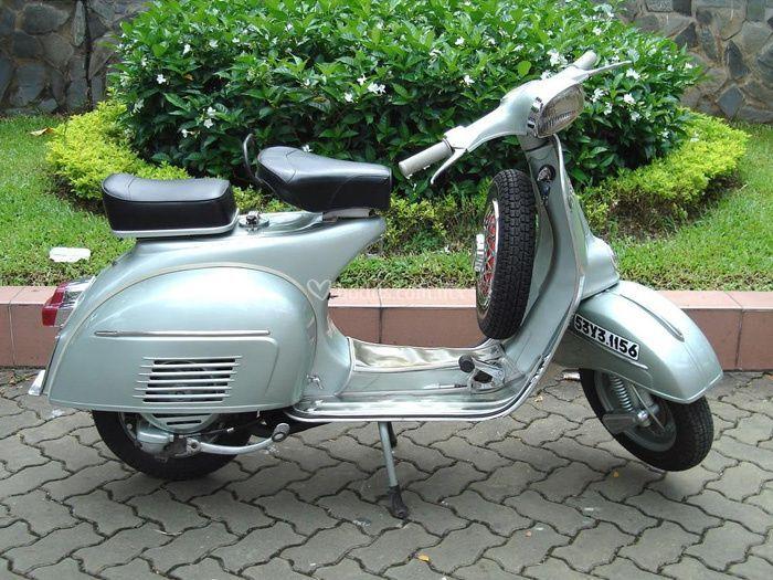 Motoneta Vespa Modelo 1960