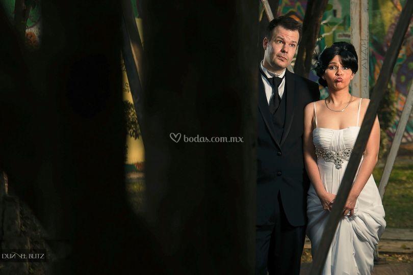En el día de la boda