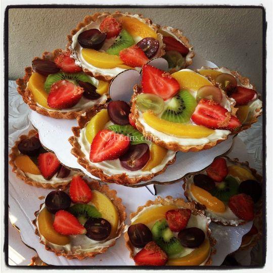 Tartaletas con fruta