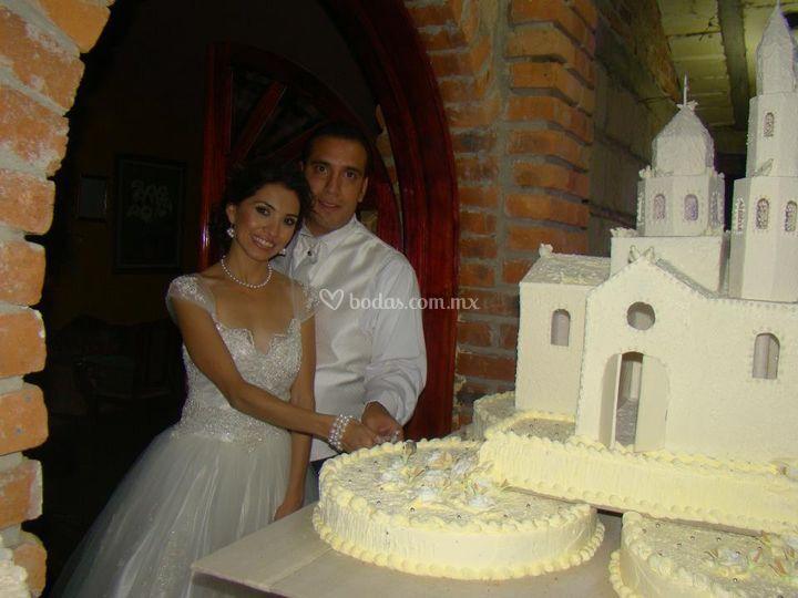 Increibles pasteles de boda