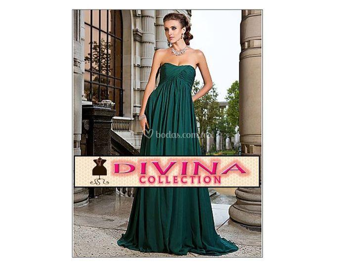 Vestido Verde Olivo Talla 36 De Divina Collection Foto 18