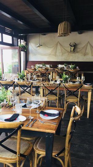 Mesa reception dinner