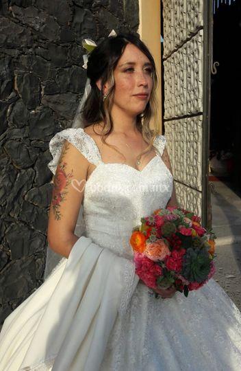 Ramo de novia colores mexicano
