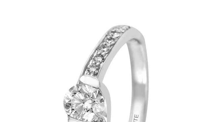 Solitario Diamante  14K  A30