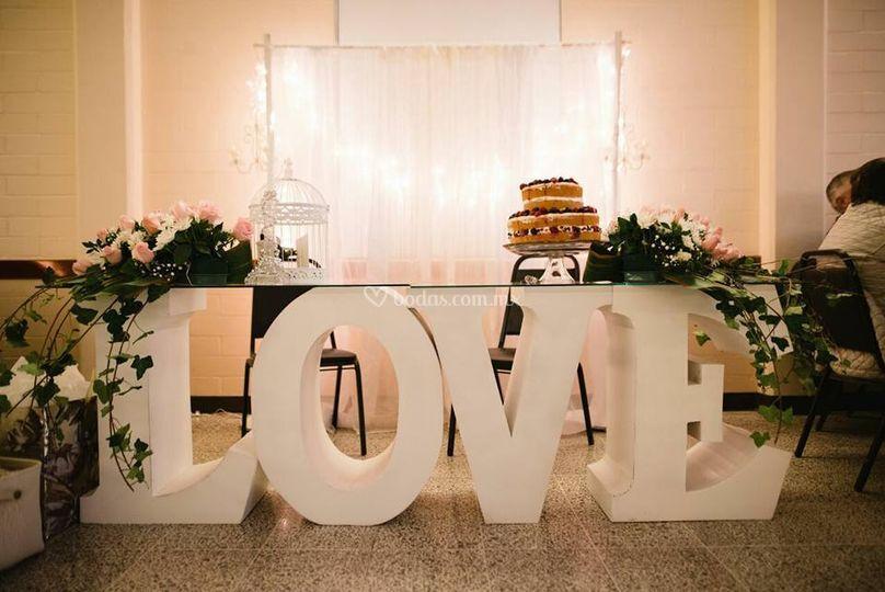 Decoraciones Sweet Love