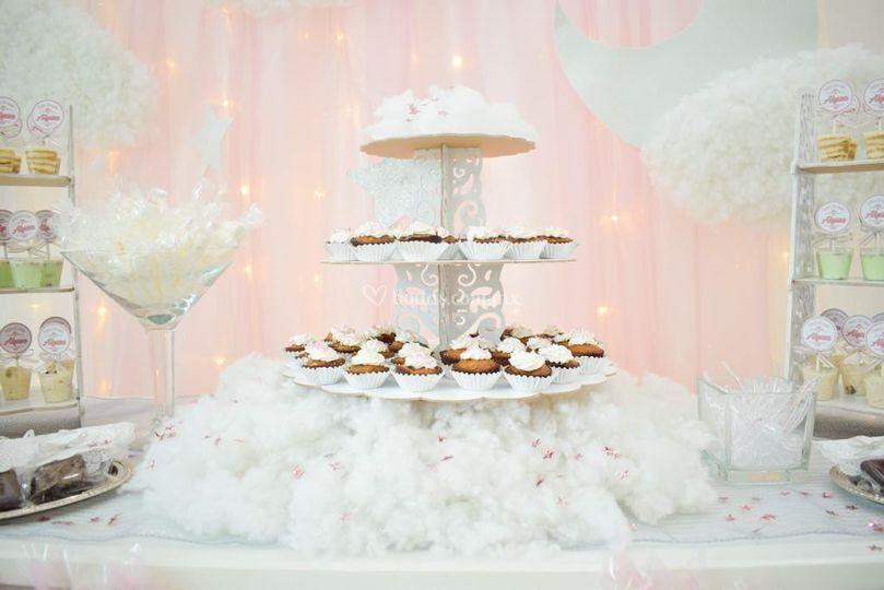Mini cupcakes zanahoria y nuez