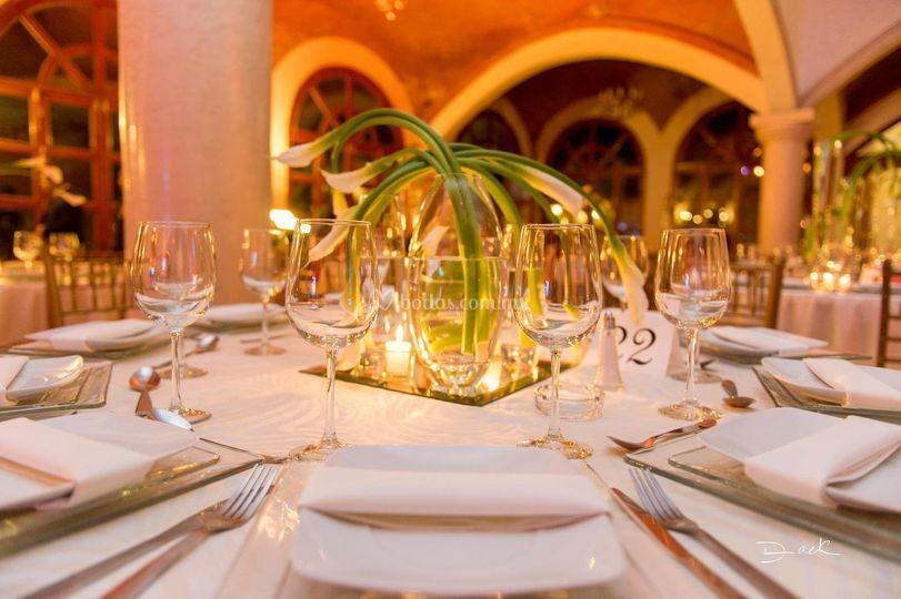 Banquetes sra ni o for Hacienda los azulejos
