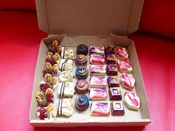 Chocolates para sus invitados