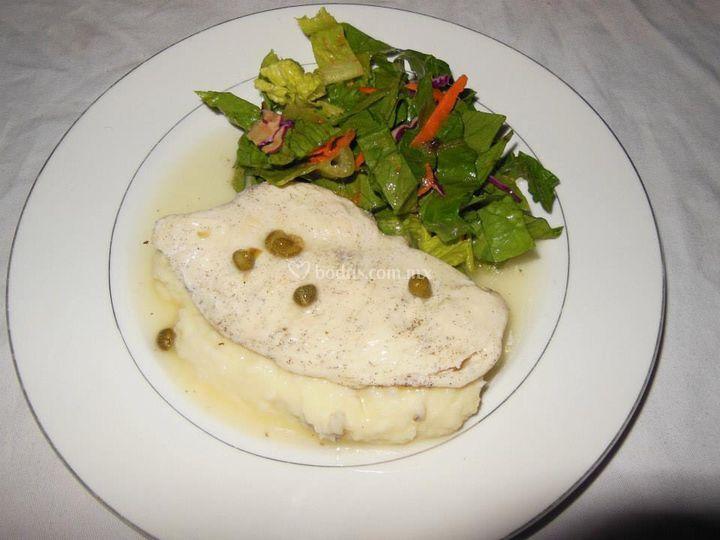 Banquetes cristy - Pechugas al limon ...