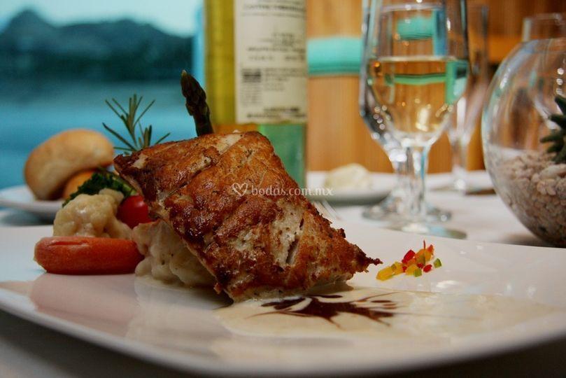 Cena gourmet internacional