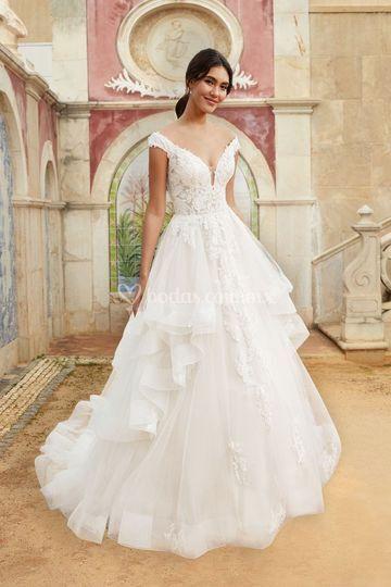 Vestido de novia Justin Alexan