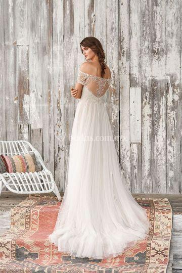 Vestido novia Justin Alexander