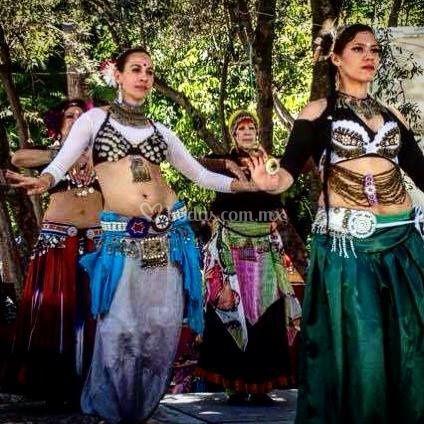 Danza en tribu