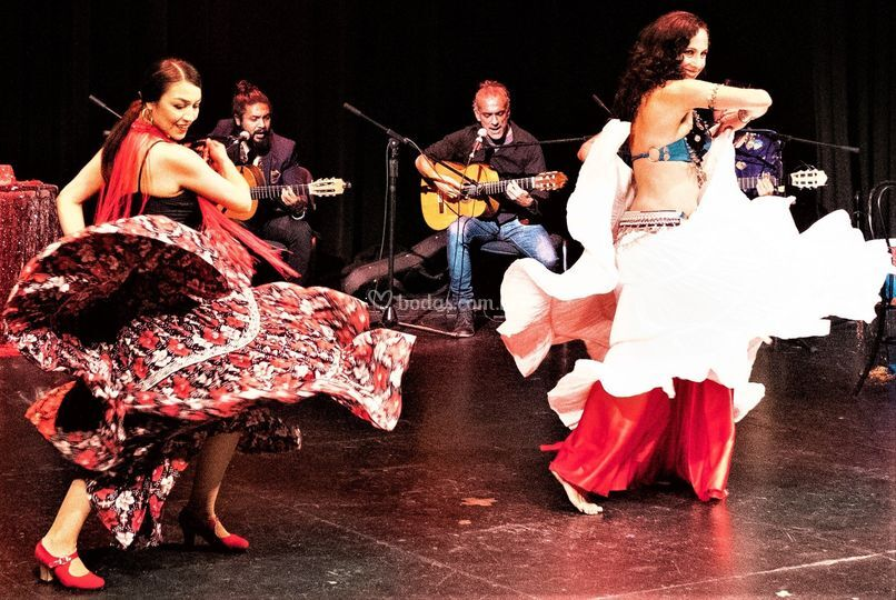 Darbukanos flamenco arabe
