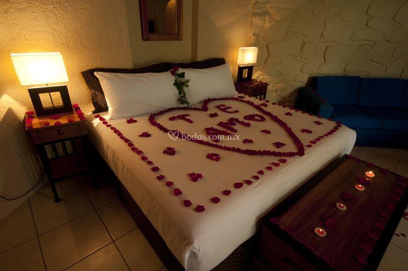 Loto azul hotel for Cuarto para las 8