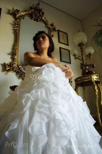 Wedding dress session